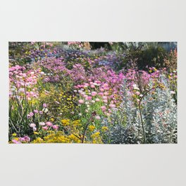 Wildflowers by Day Rug