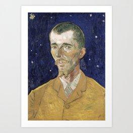 1888-Vincent van Gogh-Eugene Boch-45x60 Art Print