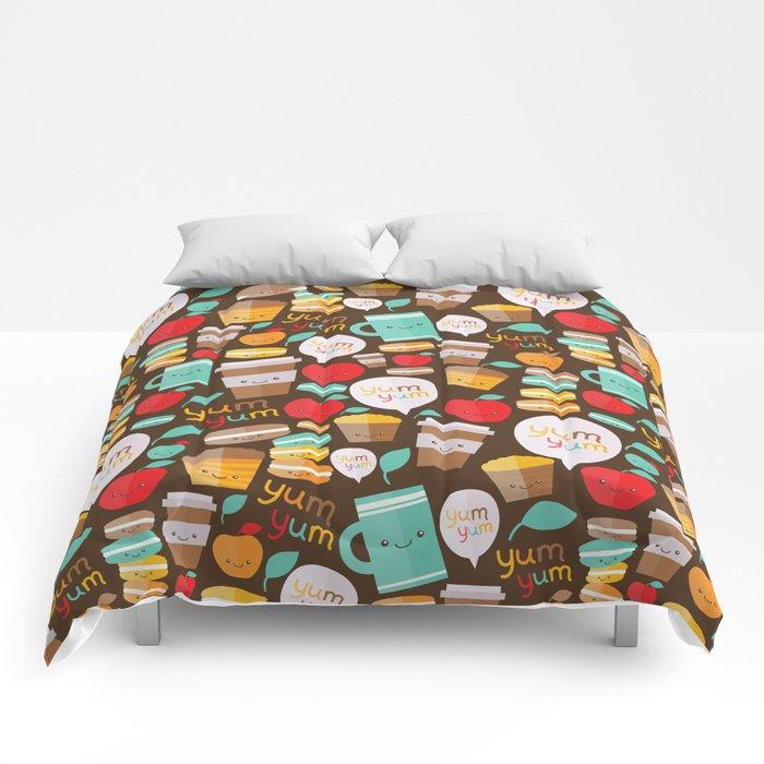 yum yum Comforters