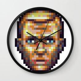 Daniel Craig - Pixel Art - 16 colors Wall Clock