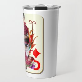 Queen of hearts Travel Mug