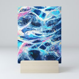 Be Water Mini Art Print