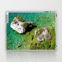 Kayaking In The Bruce Peninsula Laptop & iPad Skin