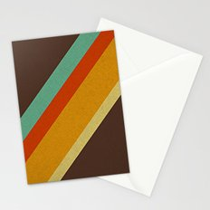 Retro 70s Color Palette Stationery Cards