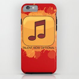 Pop Music iPhone Case