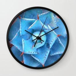 SUCCULENT MACRO - 11118/2 Wall Clock