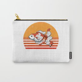 Vintage Goldfish Sunset Retro Gift Carry-All Pouch