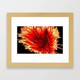 Firewalker Framed Art Print