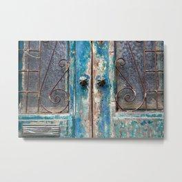 Portugal Doors 5 Metal Print