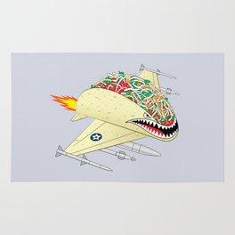 Taco Fighter Jet Rug