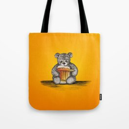 Teddy Beer Tote Bag