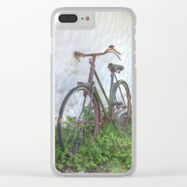 Old time bicycle, Ireland Clear iPhone Case