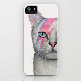 Mia Meets Bowie iPhone Case