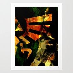 The Triforce - Digital Watercolor Art Print