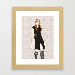 Akeela  Framed Art Print