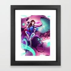 DVa Framed Art Print
