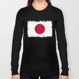 Flag of Japan, High Quality Image Long Sleeve T-shirt