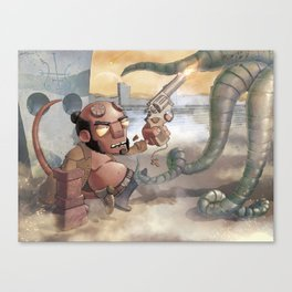 FROM HELL Canvas Print
