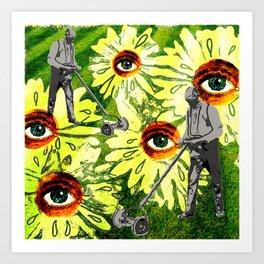 Allergic 2 Art Print