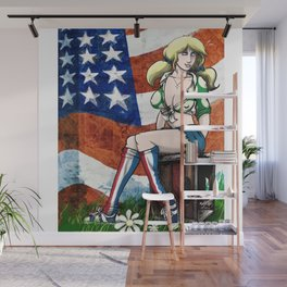 Suzy Spreadwell - Flag Wall Mural