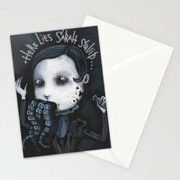 Sarah Squid - Spleen Sister by Macabre Stationery Cards