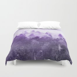 Ultra Violet Adventure Forest Duvet Cover