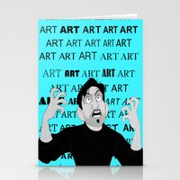 meme Stationery Cards featuring Art Meme  by Madison Daniels