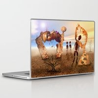 africa Laptop & iPad Skins featuring Africa by teddynash