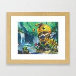 Beemo Painting Framed Art Print