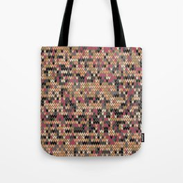 Heathered knit textile 2 Tote Bag
