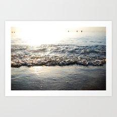 Sunrise Shore Art Print