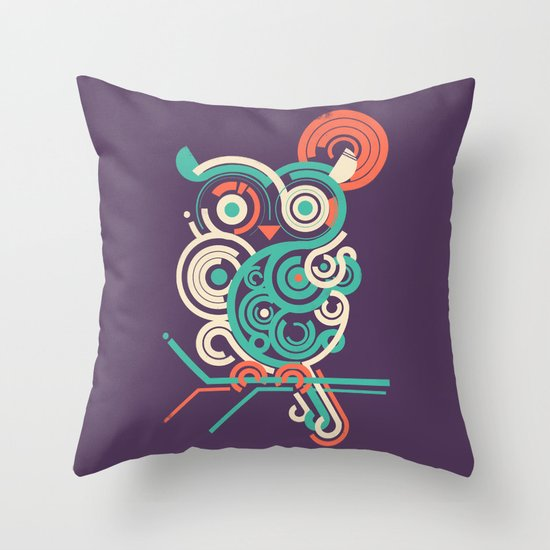 Owl 2.0 Throw Pillow