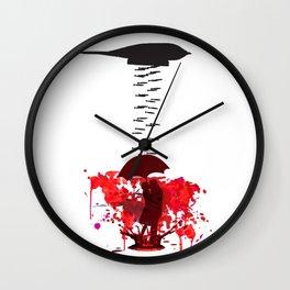 War Destroys Love Wall Clock