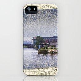 Dublin Docks iPhone Case