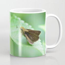 moth on a leaf Coffee Mug