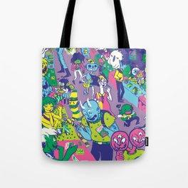Monster Jam Tote Bag