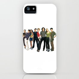 10 Things i hate about you movie fan art iPhone Case