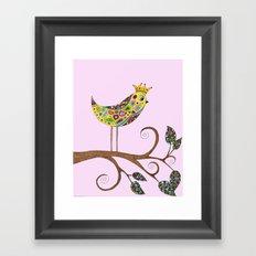 Bird Talk Framed Art Print
