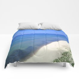 Beach Side View Comforters