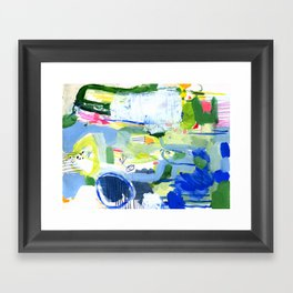 MUSICAL CONFUSION #2 Framed Art Print