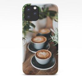 Latte + Plants iPhone Case