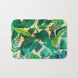 Jungle Leaf Bath Mat