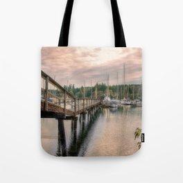 Bainbridge Harbor Tote Bag
