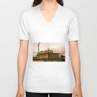 colombia V-neck T-shirts featuring Colombia is my country! by Alejandra Triana Muñoz (Alejandra Sweet