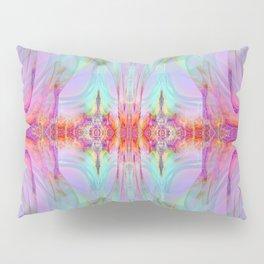 Large Wall Art- Pastilens- Sacred Geometry- Pink Art- Blue Art- Purple Art- Landscape- Home Decor Pillow Sham