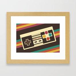 Retro Video Game 2 Framed Art Print