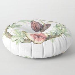 Fig Wreath Floor Pillow