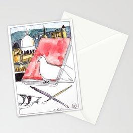 Birds Journals Paris Stationery Cards