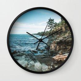 Ocean's Edge Newport Rhode Island Wall Clock