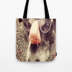 Hiding behind a disguise. Tote Bag